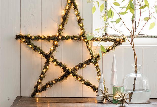 DIY: Kerstster met verlichting