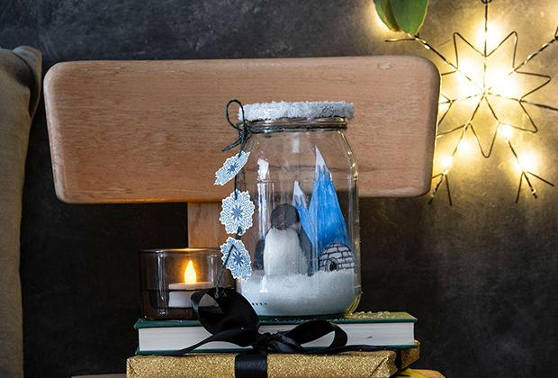 DIY: Glazen sneeuwbol maken