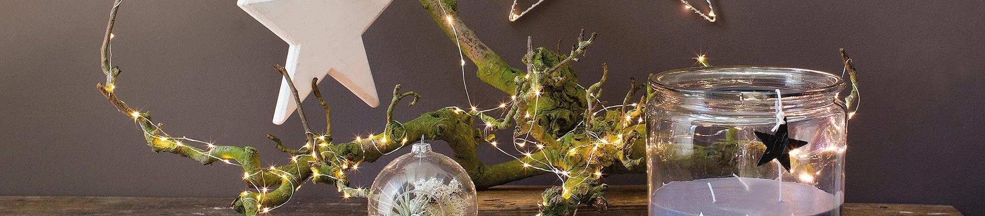 DIY: Kerststukje maken op een boomschijf