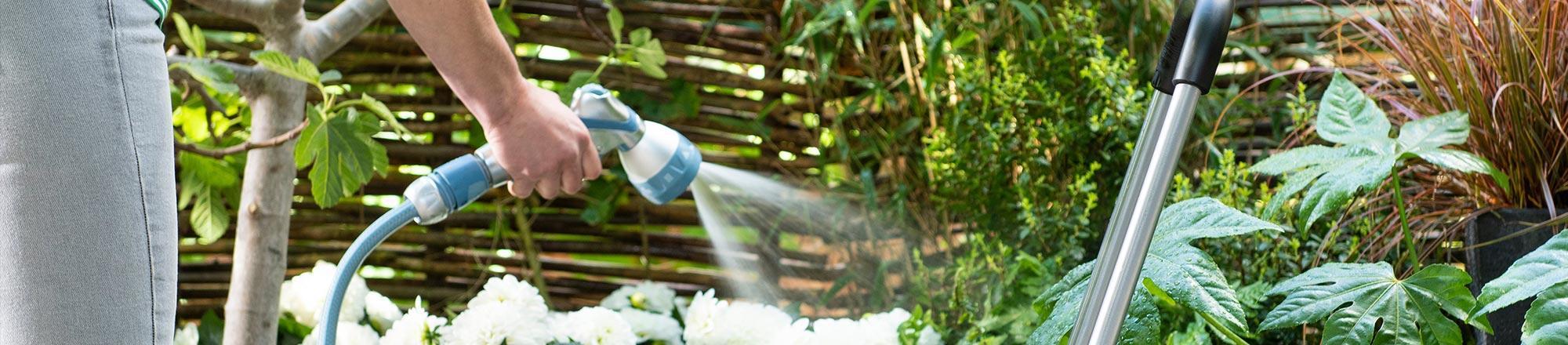 Water geven in je tuin