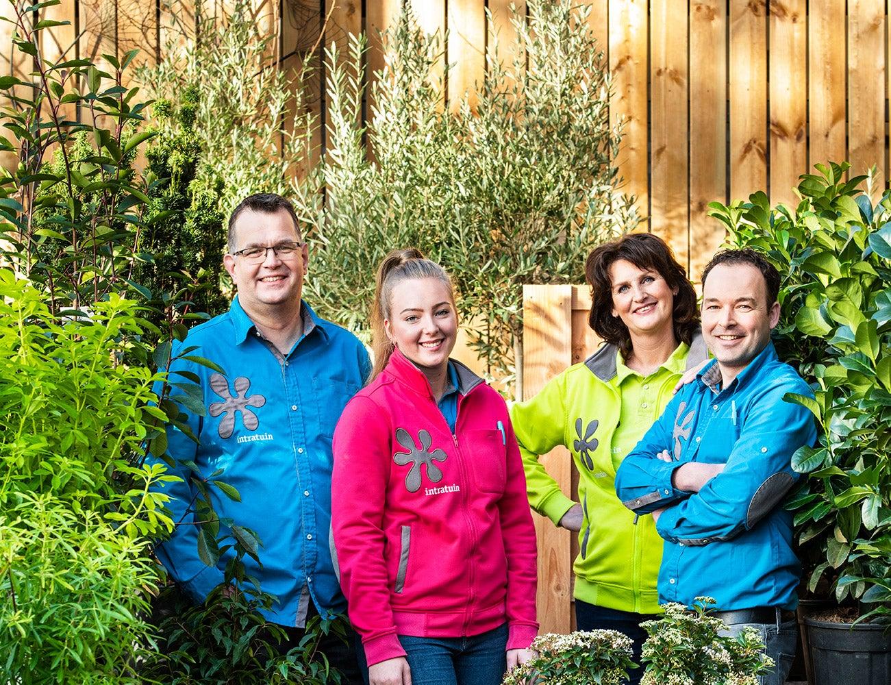 Even voorstellen: de tuintoppers van Intratuin