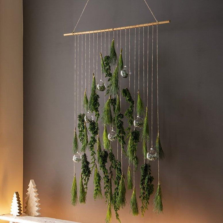 Alternatieve kerstboom, groene hanger