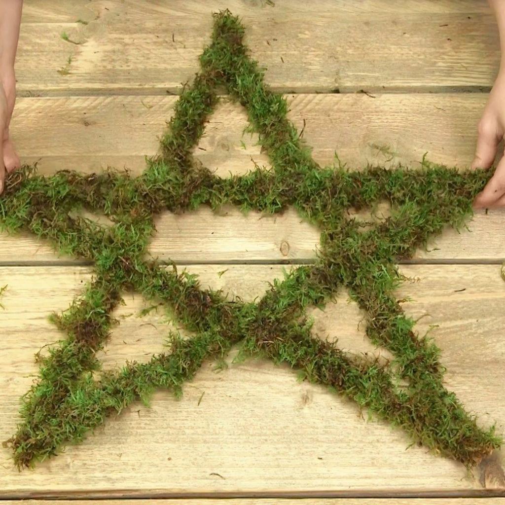 DIY Kerstster met verlichting stap 5: resultaat beoordelen