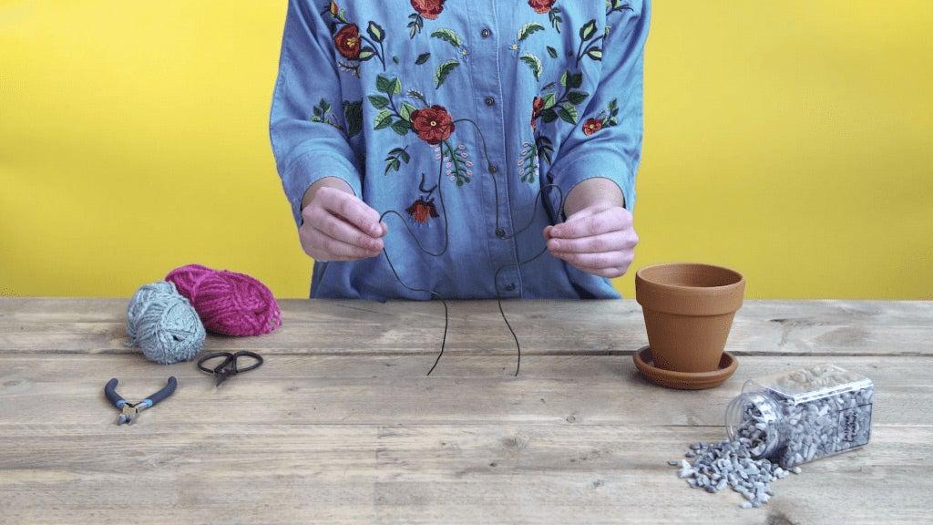 DIY kunstcactus stap 1: Cactus maken