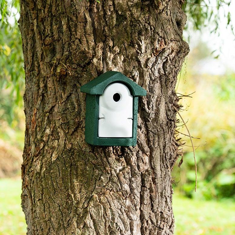 Nestkastje aan boom