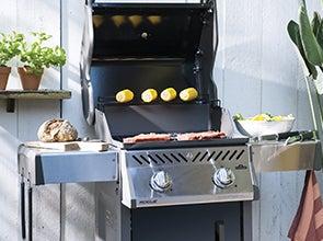 Gasbarbecues en buitenkeukens