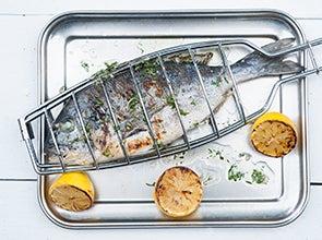 Groente, vlees en vishouders