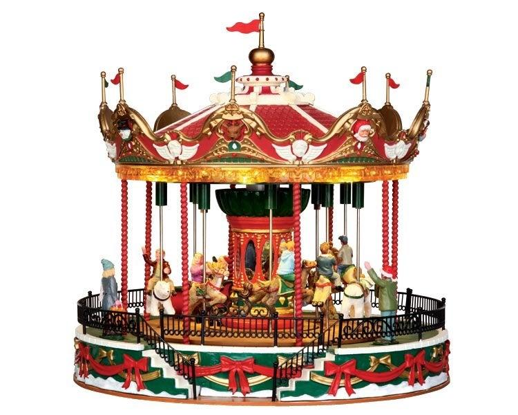 Lemax Santa carousel (carrousel) H 26,8 cm