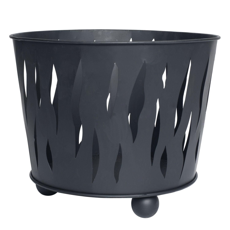 Intratuin vuurkorf 39 x 39 x 31 cm zwart