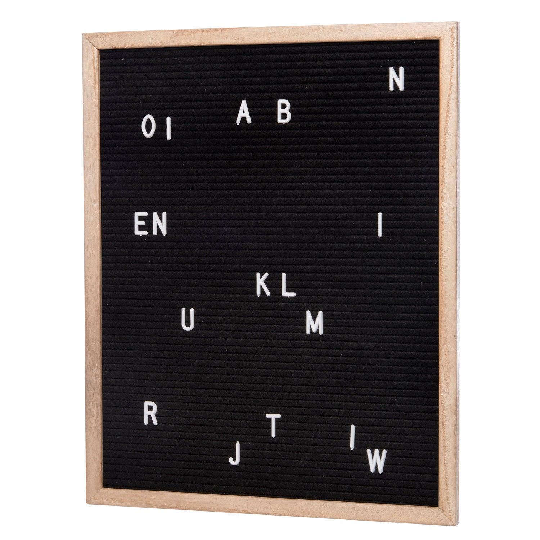 Intratuin letterbord naturel / zwart 52 x 2,5 x 71 cm