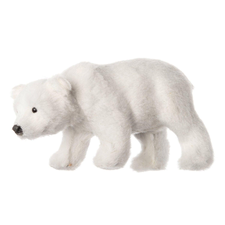 Intratuin ijsbeer pluche 11 x 5 x 6 cm