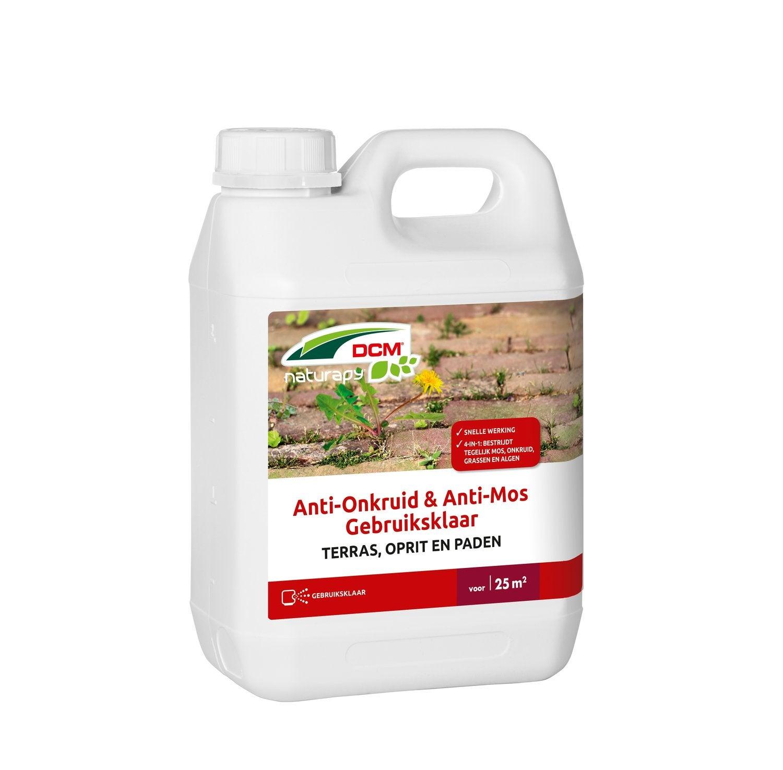 DCM Anti-Onkruid en Anti-Mos - Terras, oprit en paden 2,5 L