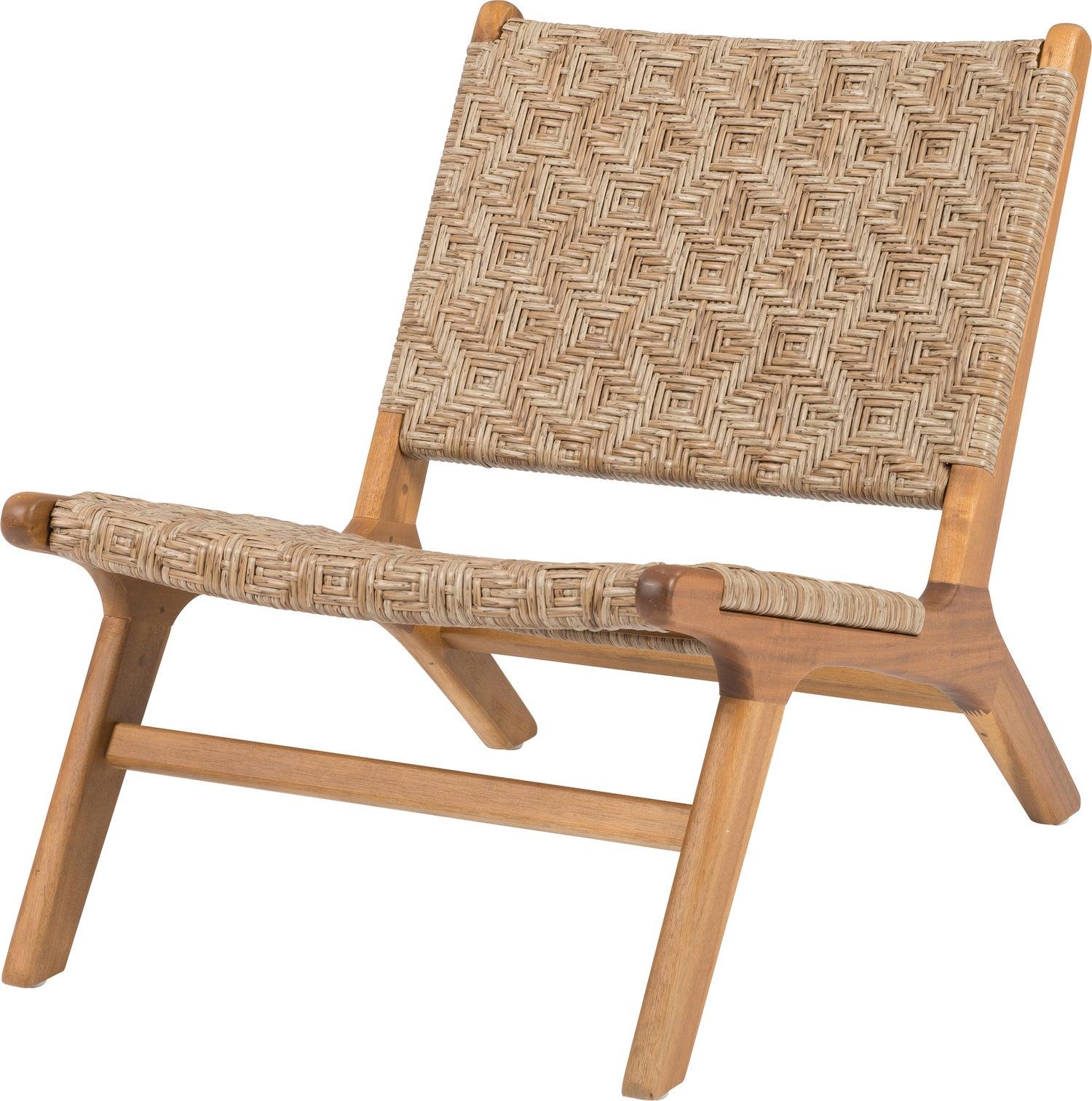 Intratuin relaxstoel Vasto wicker naturel