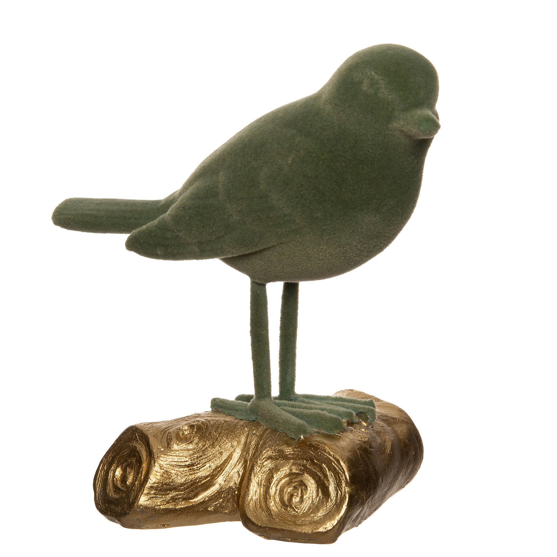 Intratuin vogel groen 11 x 7 x 11,2 cm