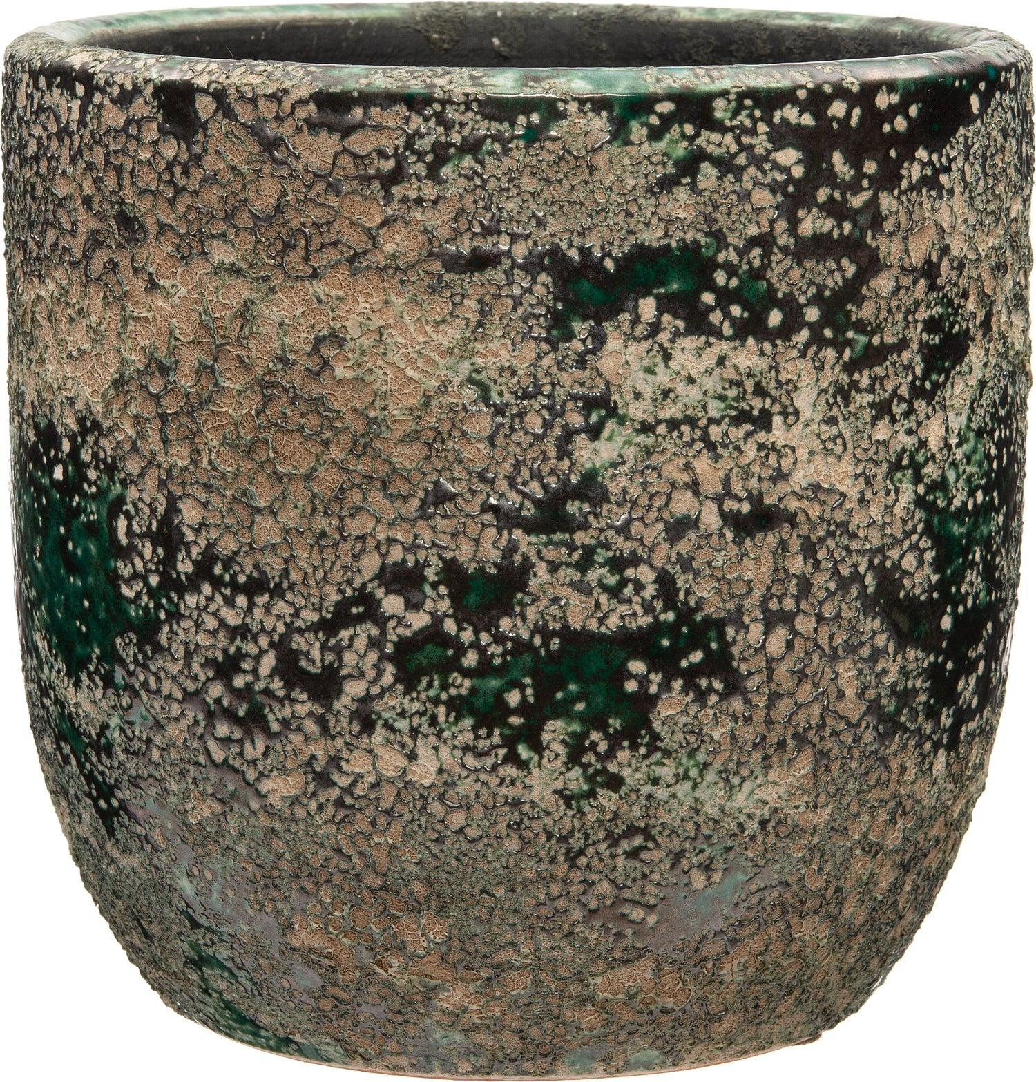 Intratuin bloempot Taki groen D 16 H 15 cm