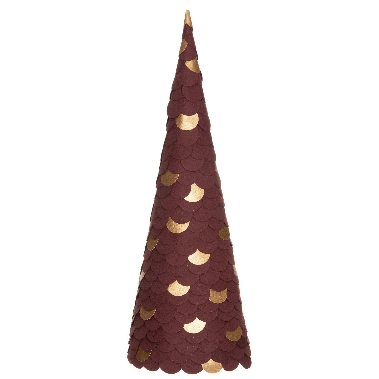 Intratuin decoratieboom papier paars D 16 H 47,5 cm