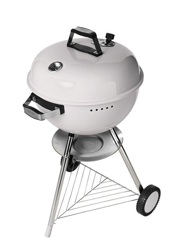 Intratuin houtskool barbecue D 47 cm wit