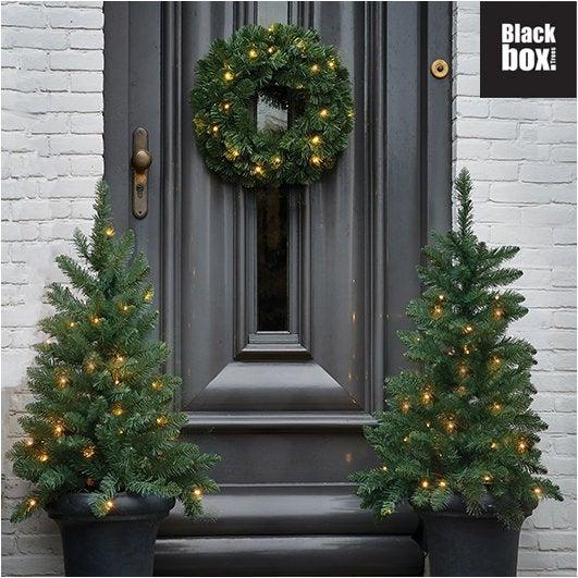 Black Box voordeurset Wenen 1 krans 2 bomen