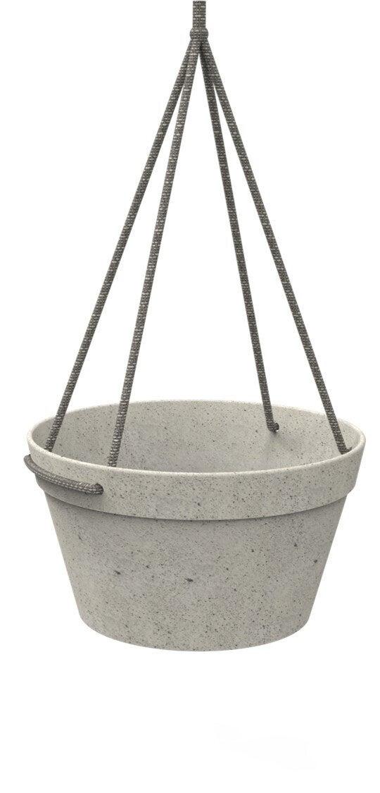 Fibrics hangpot Bamboo grijs D 25 H 14 cm