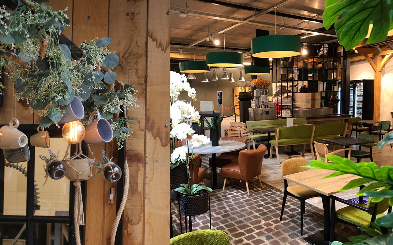 Hernieuwde Tuincafé geopend!