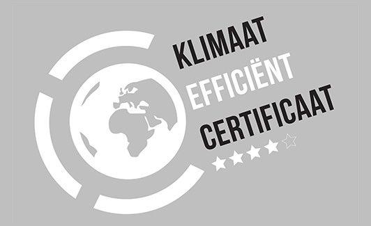 Klimaat efficiënt certificaat